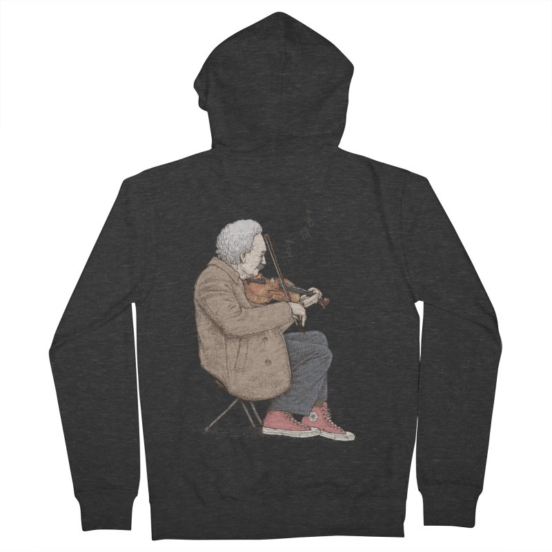 holiday of the scientist Men's Zip-Up Hoody by makapa's Artist Shop
