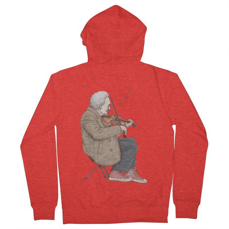 holiday of the scientist Men's Zip-Up Hoody by makapa's Artist Shop