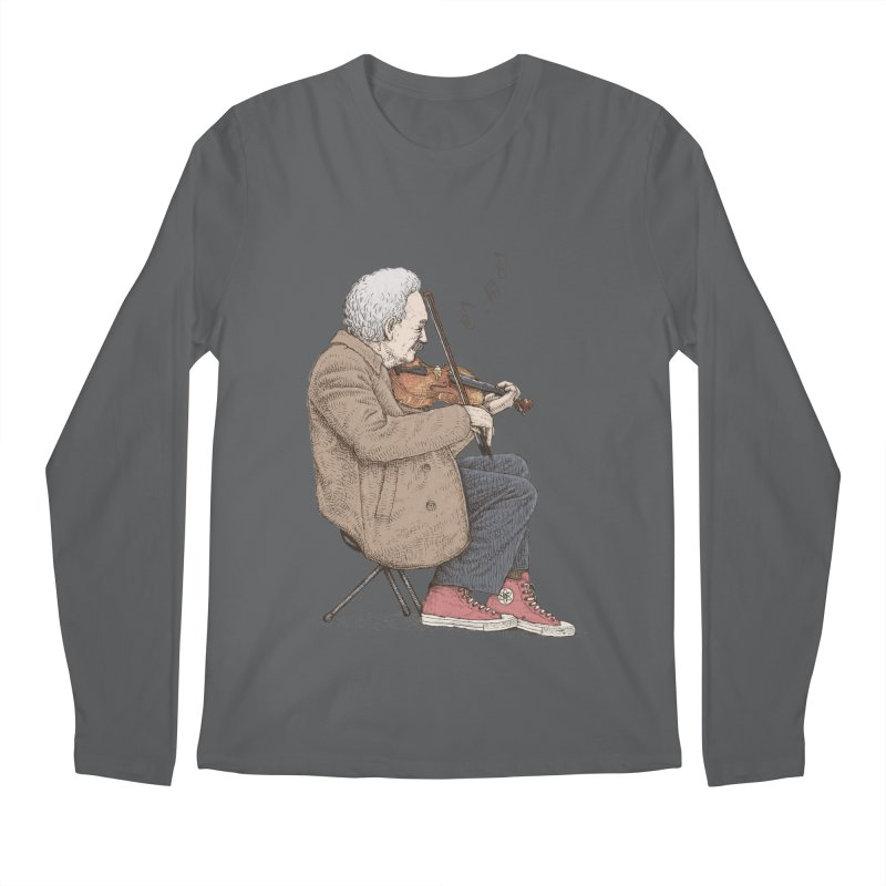holiday of the scientist Men's Longsleeve T-Shirt by makapa's Artist Shop