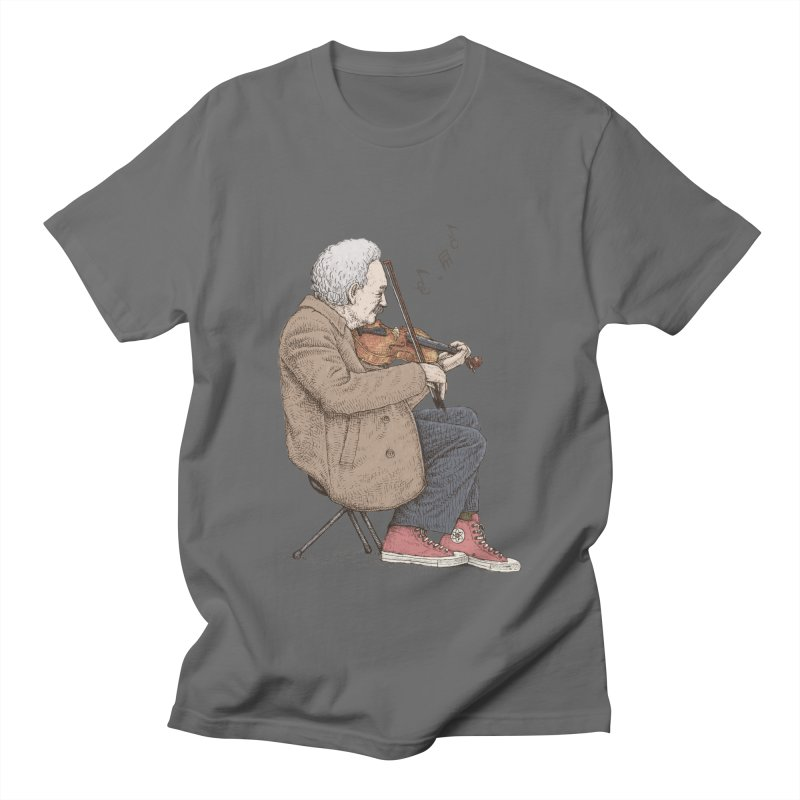 holiday of the scientist Men's T-Shirt by makapa's Artist Shop