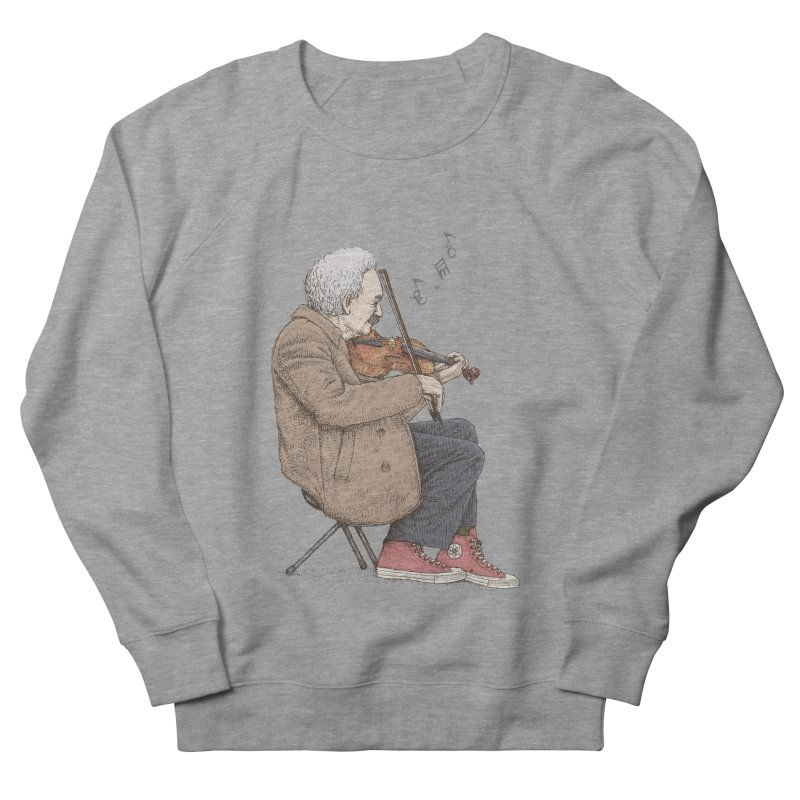 holiday of the scientist Women's French Terry Sweatshirt by makapa's Artist Shop