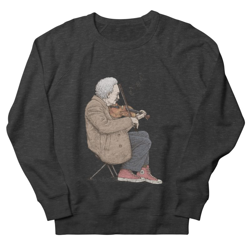 holiday of the scientist Men's French Terry Sweatshirt by makapa's Artist Shop