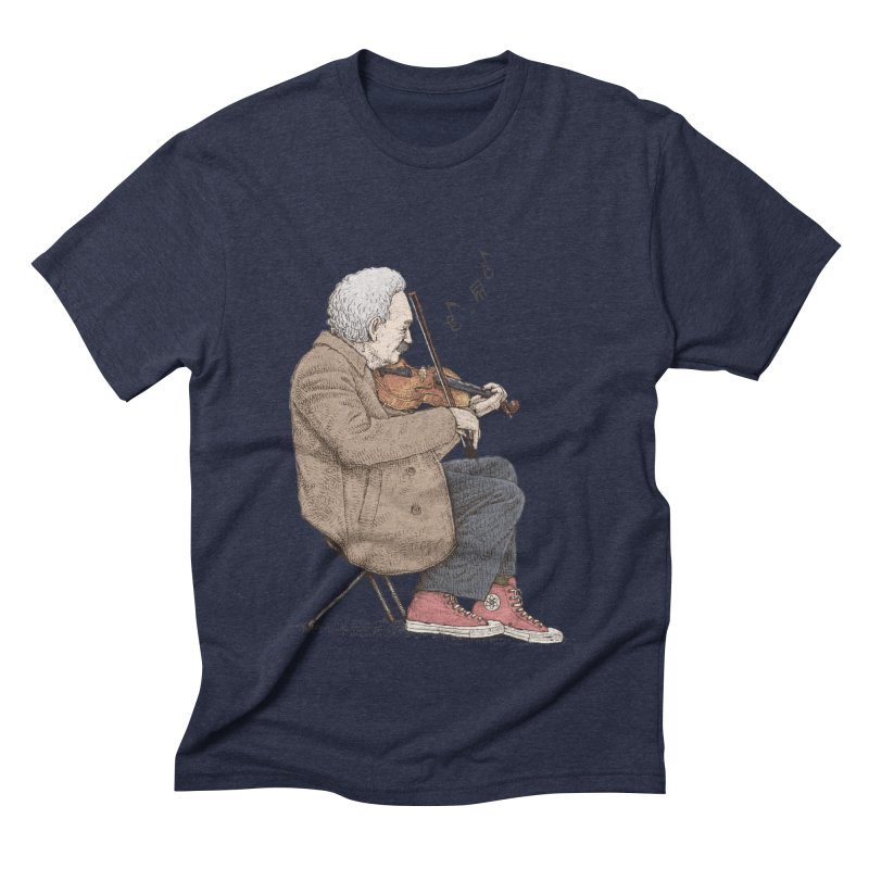 holiday of the scientist Men's Triblend T-Shirt by makapa's Artist Shop