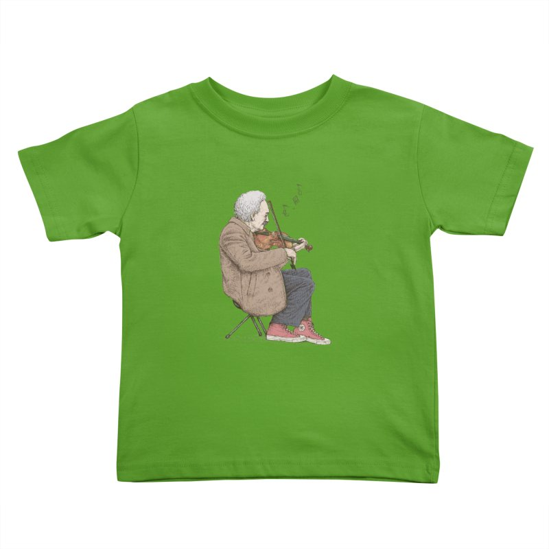 holiday of the scientist Kids Toddler T-Shirt by makapa's Artist Shop