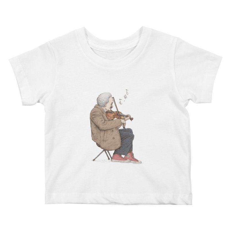 holiday of the scientist Kids Baby T-Shirt by makapa's Artist Shop