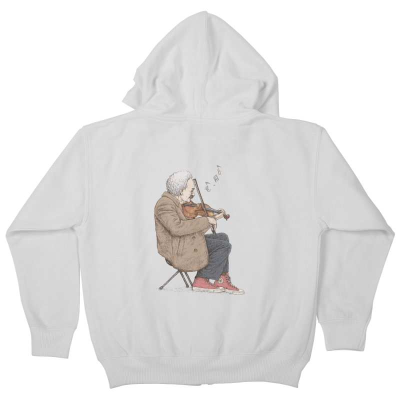 holiday of the scientist Kids Zip-Up Hoody by makapa's Artist Shop