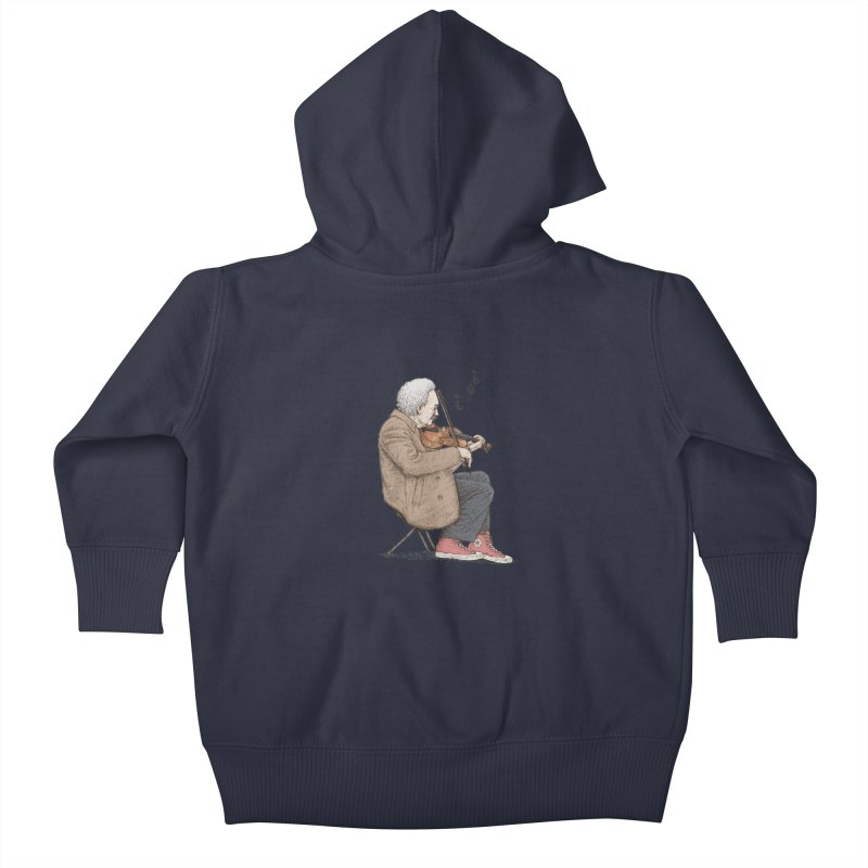 holiday of the scientist Kids Baby Zip-Up Hoody by makapa's Artist Shop