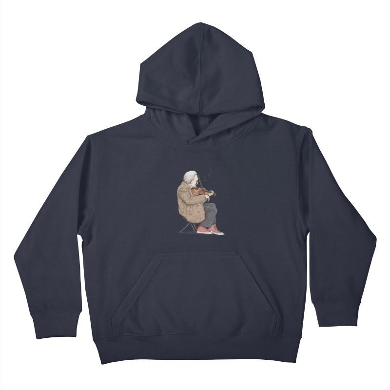 holiday of the scientist Kids Pullover Hoody by makapa's Artist Shop
