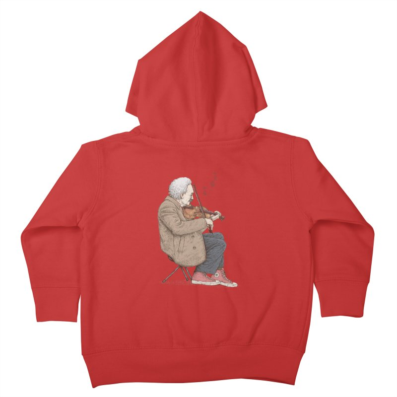 holiday of the scientist Kids Toddler Zip-Up Hoody by makapa's Artist Shop