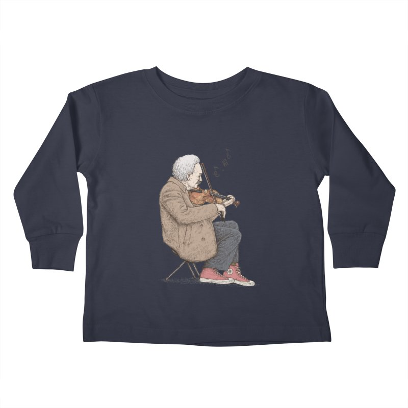 holiday of the scientist Kids Toddler Longsleeve T-Shirt by makapa's Artist Shop