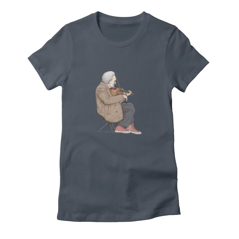 holiday of the scientist Women's T-Shirt by makapa's Artist Shop