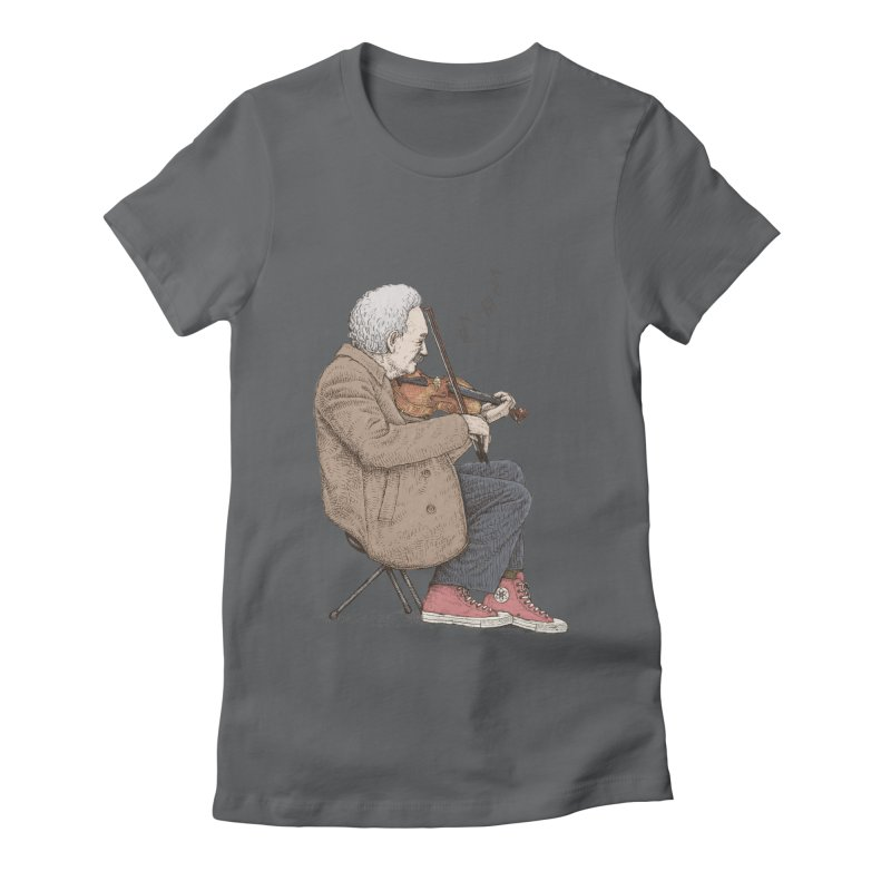 holiday of the scientist Women's Fitted T-Shirt by makapa's Artist Shop