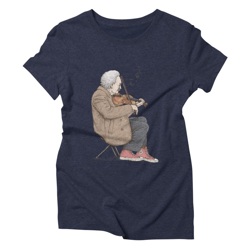 holiday of the scientist Women's Triblend T-Shirt by makapa's Artist Shop