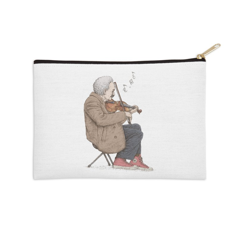 holiday of the scientist Accessories Zip Pouch by makapa's Artist Shop