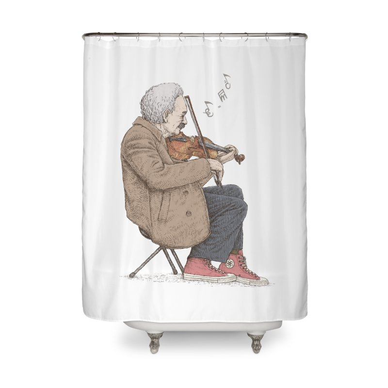 holiday of the scientist Home Shower Curtain by makapa's Artist Shop