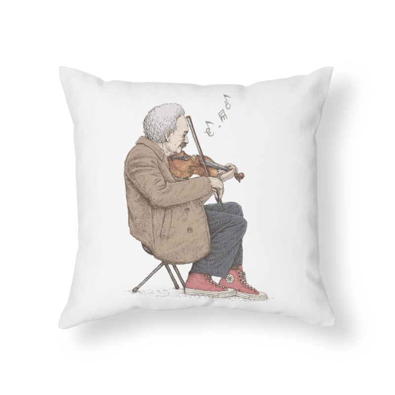 holiday of the scientist Home Throw Pillow by makapa's Artist Shop