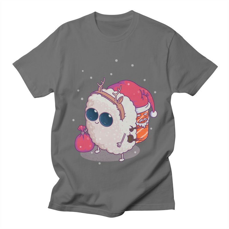 happy santa sushi Women's Unisex T-Shirt by makapa's Artist Shop