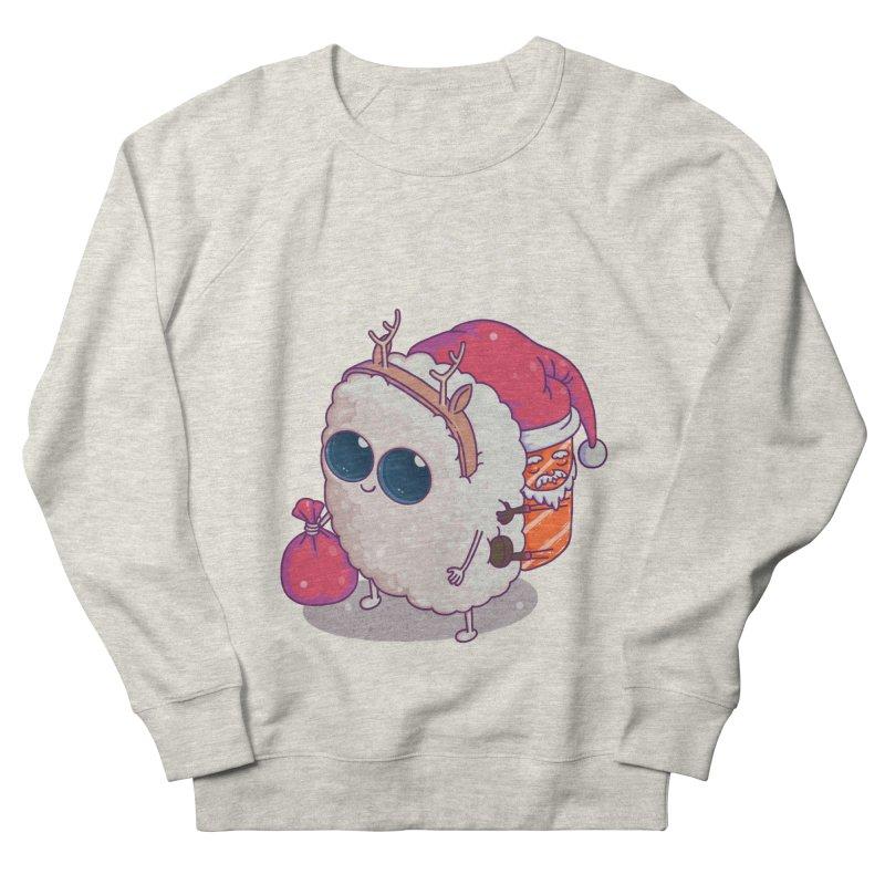 happy santa sushi Women's Sweatshirt by makapa's Artist Shop