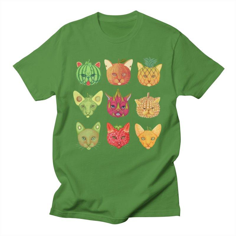 cat or fruit Women's T-Shirt by makapa's Artist Shop