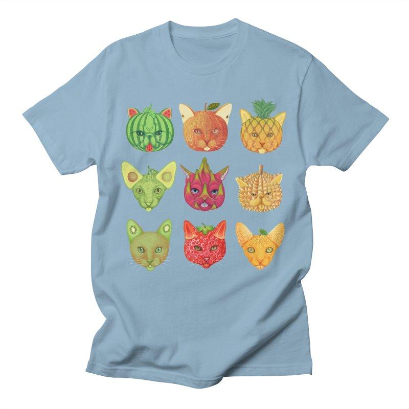 cat or fruit Women's Unisex T-Shirt by makapa's Artist Shop
