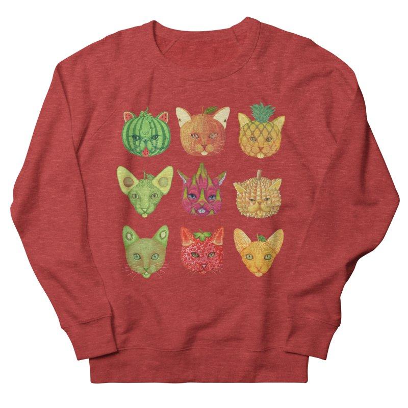 cat or fruit Women's Sweatshirt by makapa's Artist Shop