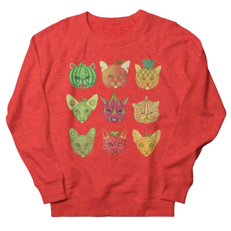 cat or fruit Men's Sweatshirt by makapa's Artist Shop