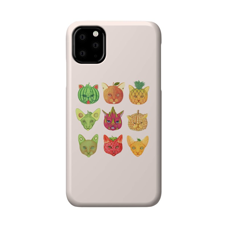 cat or fruit Accessories Phone Case by makapa's Artist Shop