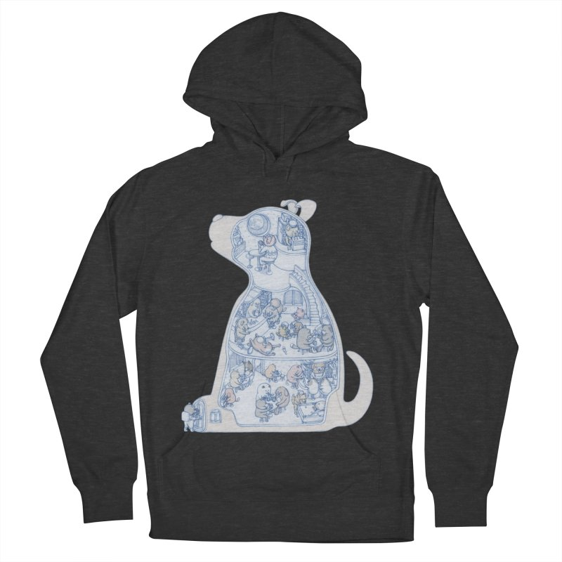 my dog and friends Women's Pullover Hoody by makapa's Artist Shop