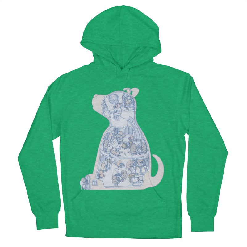 my dog and friends Men's Pullover Hoody by makapa's Artist Shop