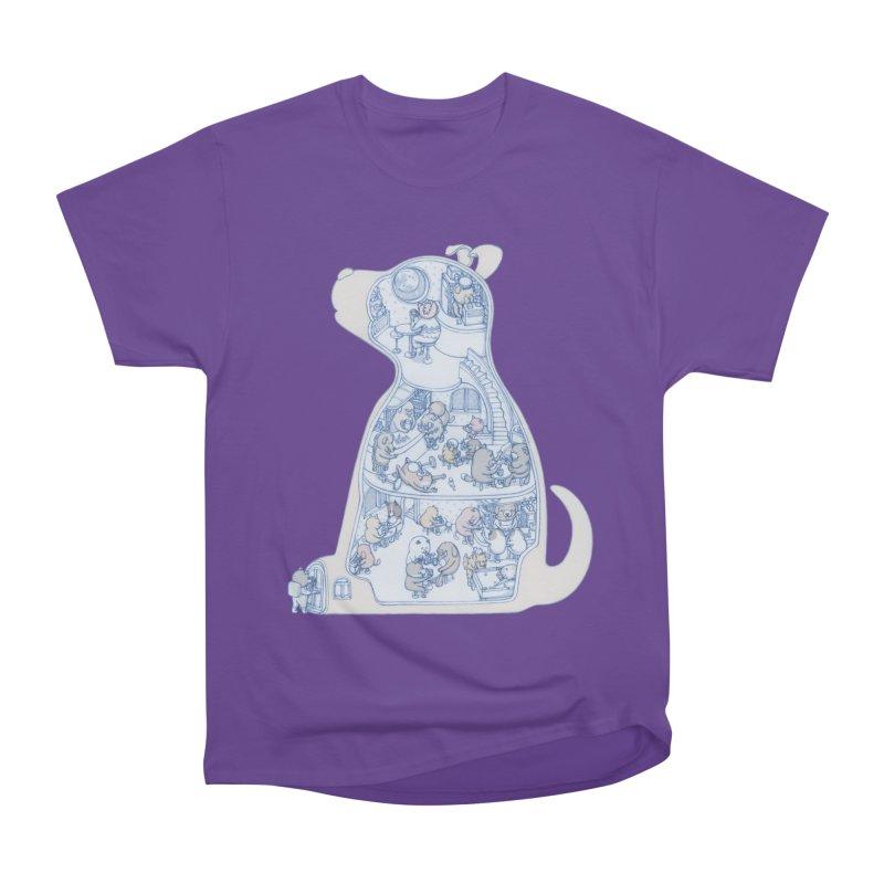 my dog and friends Women's Classic Unisex T-Shirt by makapa's Artist Shop