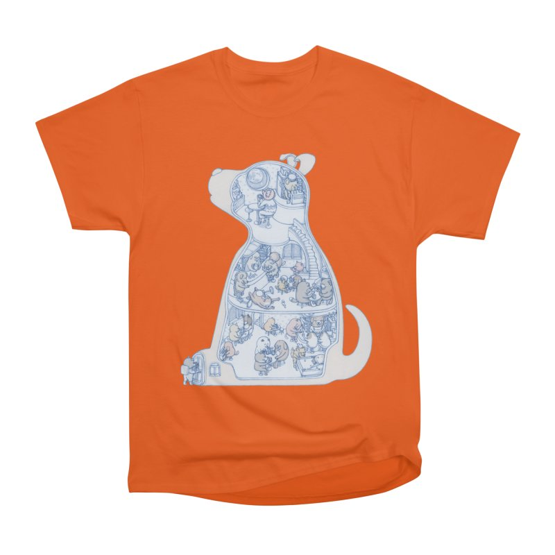 my dog and friends Men's Classic T-Shirt by makapa's Artist Shop