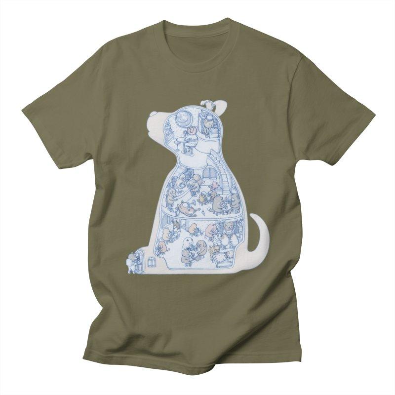 my dog and friends Women's Unisex T-Shirt by makapa's Artist Shop