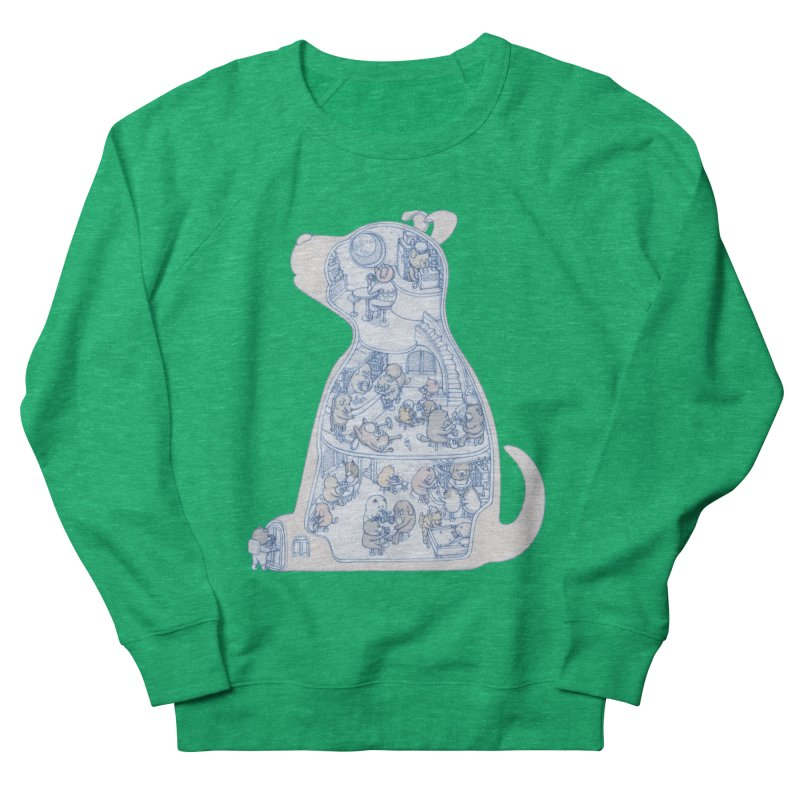 my dog and friends Women's Sweatshirt by makapa's Artist Shop