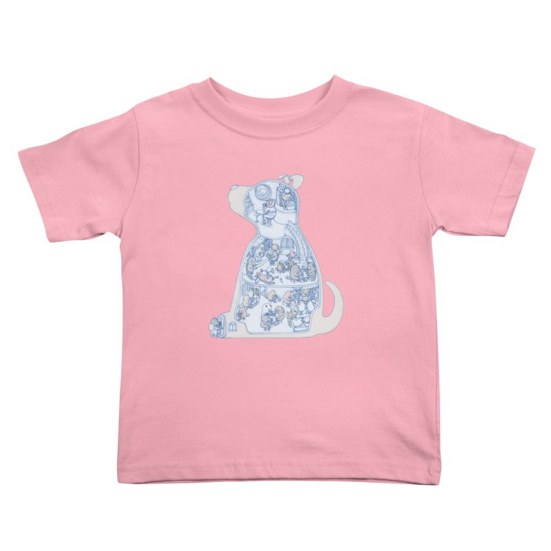 my dog and friends Kids Toddler T-Shirt by makapa's Artist Shop
