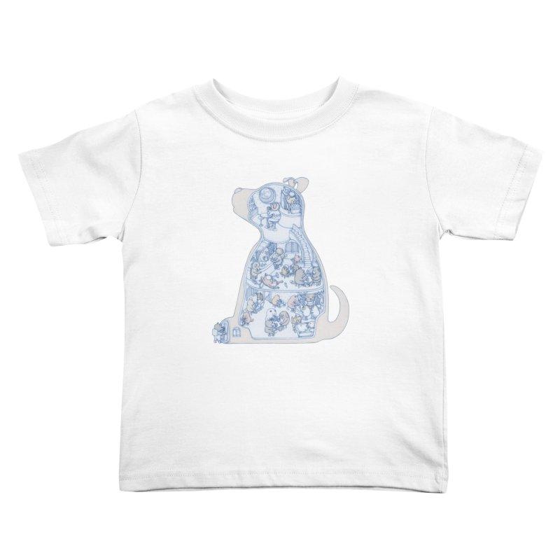 my dog and friends Kids Toddler T-Shirt by makapa's Artist Shop