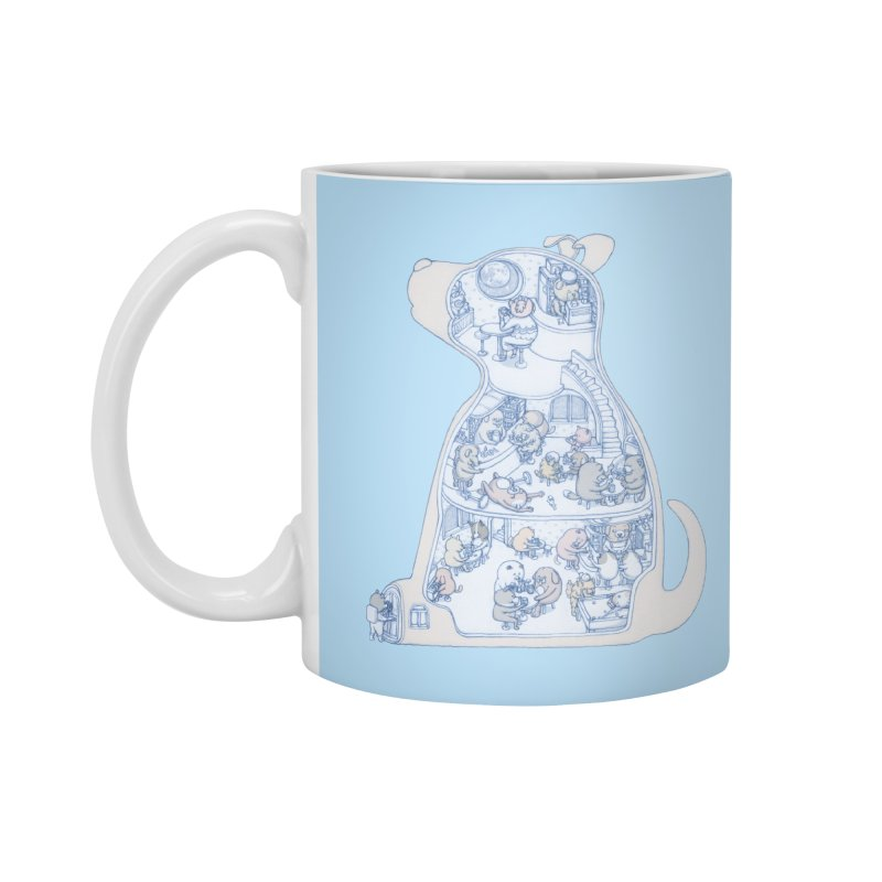 my dog and friends Accessories Mug by makapa's Artist Shop