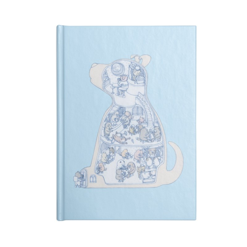 my dog and friends Accessories Notebook by makapa's Artist Shop
