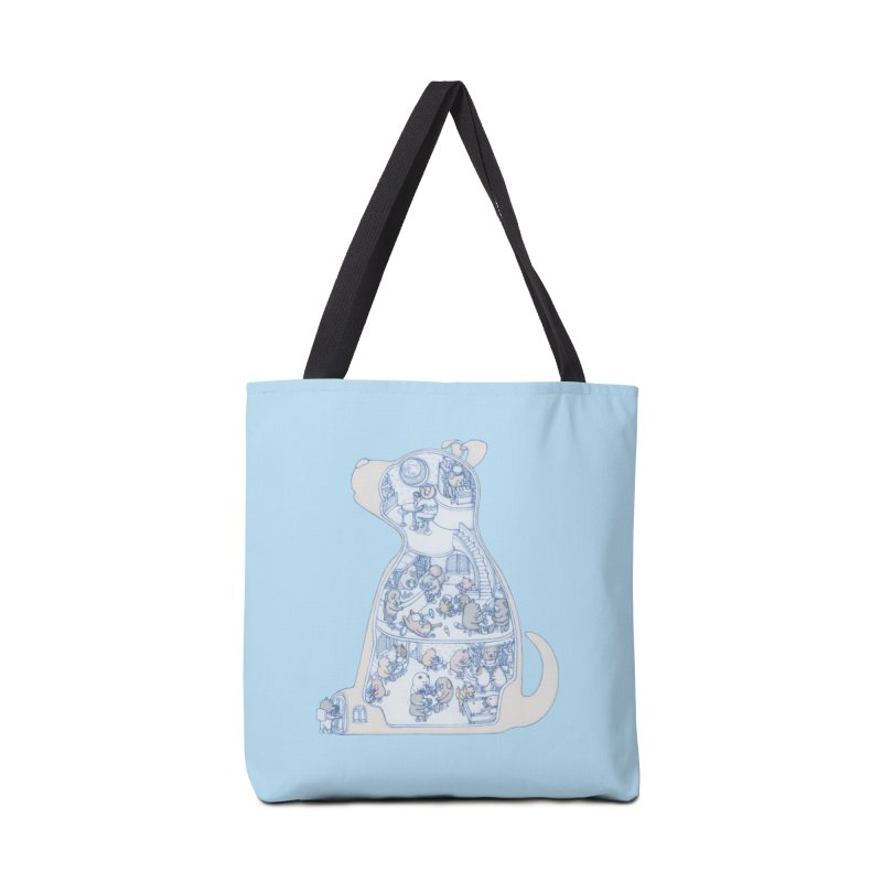 my dog and friends Accessories Bag by makapa's Artist Shop