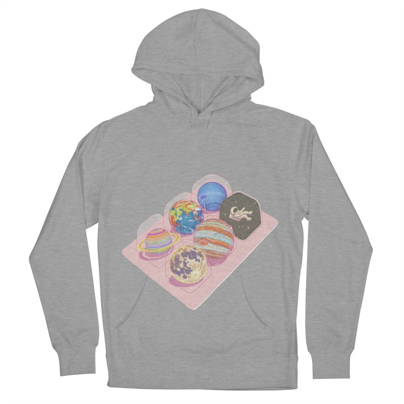 universe space pack Men's French Terry Pullover Hoody by makapa's Artist Shop