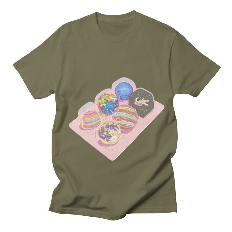 universe space pack Men's T-Shirt by makapa's Artist Shop