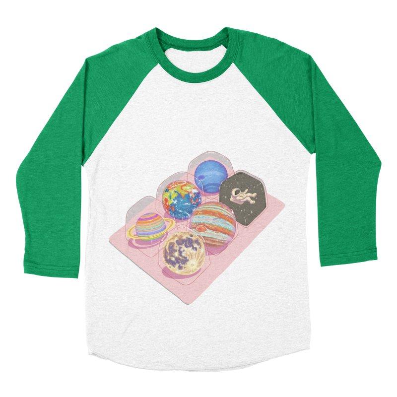 universe space pack Women's Baseball Triblend Longsleeve T-Shirt by makapa's Artist Shop