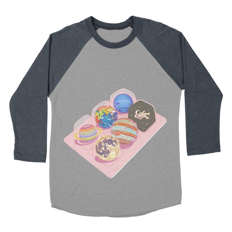 universe space pack Men's Baseball Triblend T-Shirt by makapa's Artist Shop