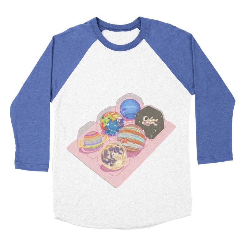 universe space pack Men's Baseball Triblend Longsleeve T-Shirt by makapa's Artist Shop