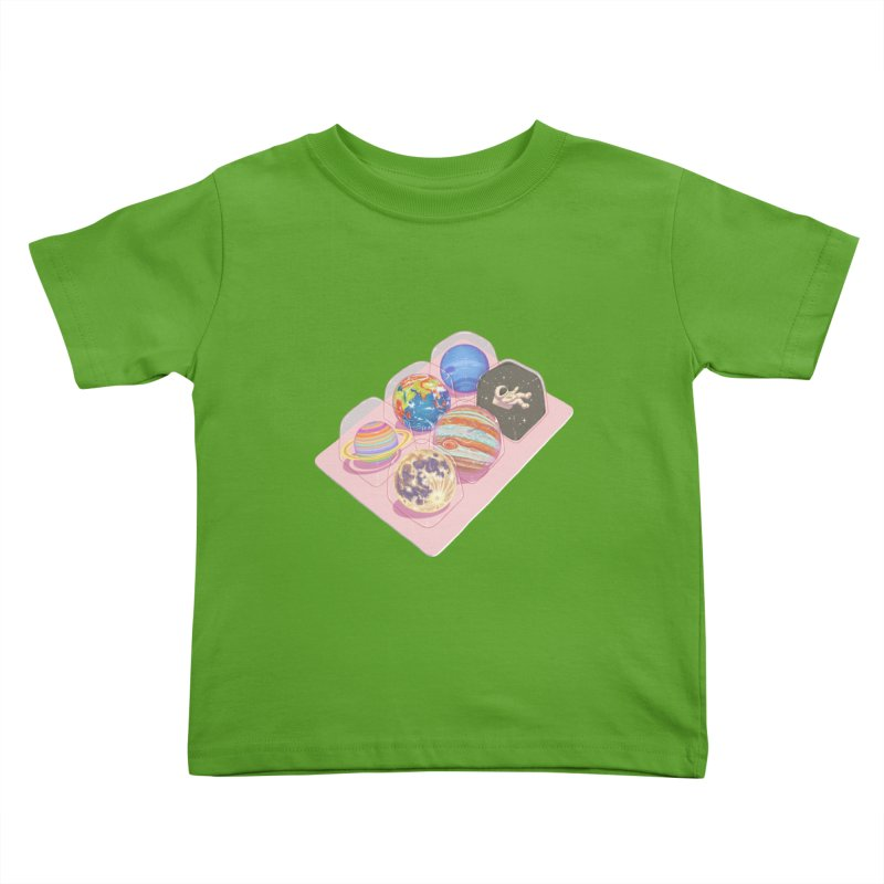 universe space pack Kids Toddler T-Shirt by makapa's Artist Shop