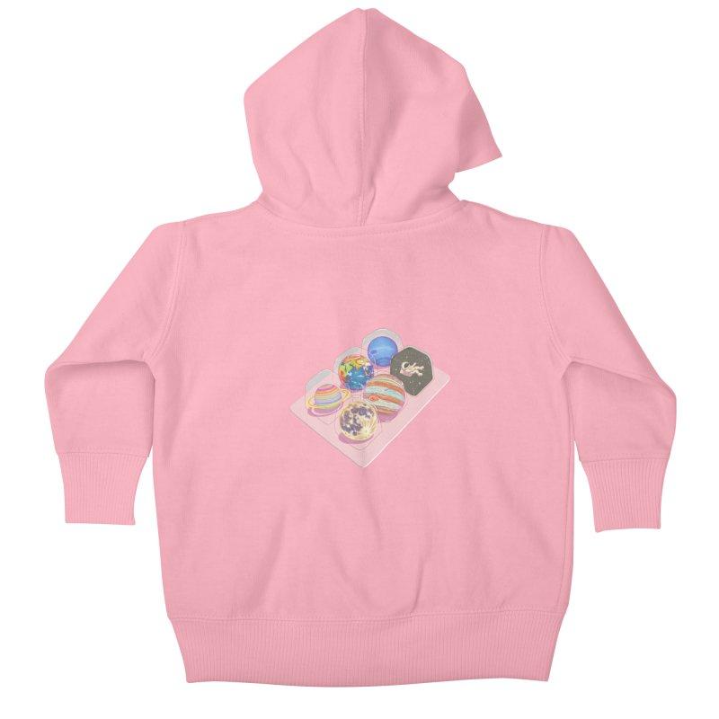 universe space pack Kids Baby Zip-Up Hoody by makapa's Artist Shop