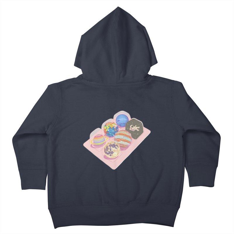 universe space pack Kids Toddler Zip-Up Hoody by makapa's Artist Shop