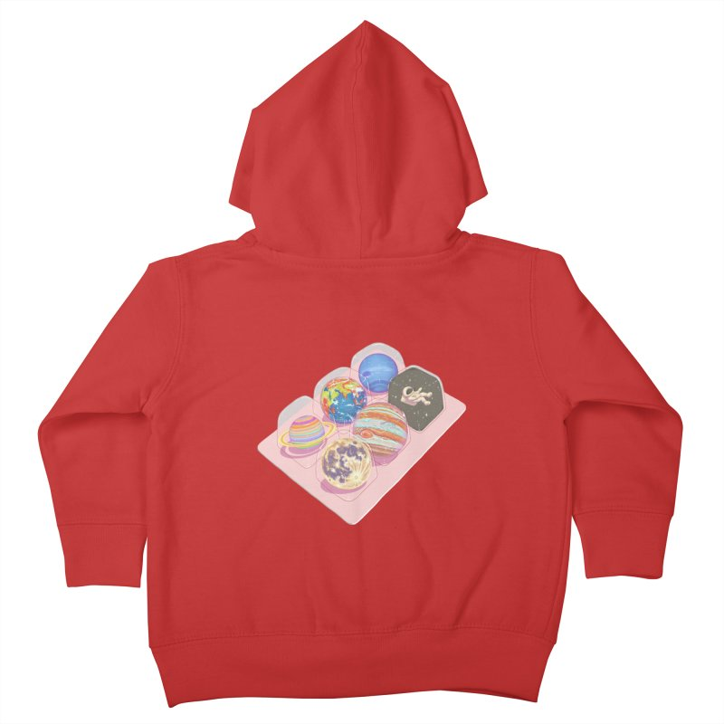 universe space pack Kids Toddler Zip-Up Hoody by makapa's Artist Shop
