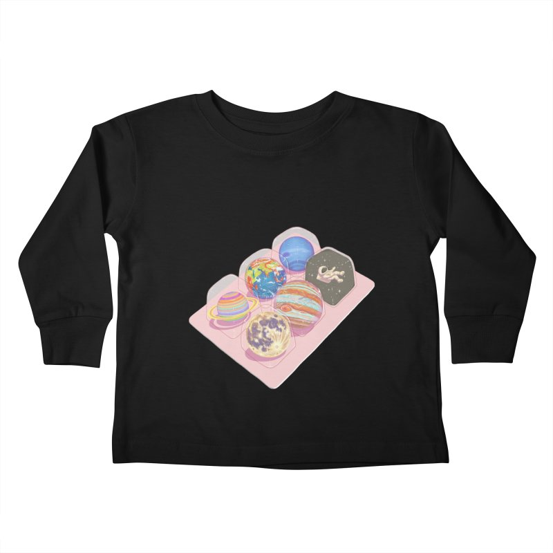 universe space pack Kids Toddler Longsleeve T-Shirt by makapa's Artist Shop