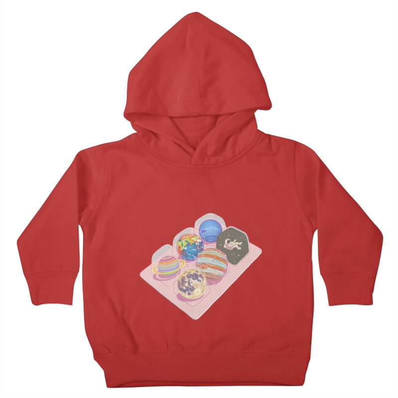 universe space pack Kids Toddler Pullover Hoody by makapa's Artist Shop
