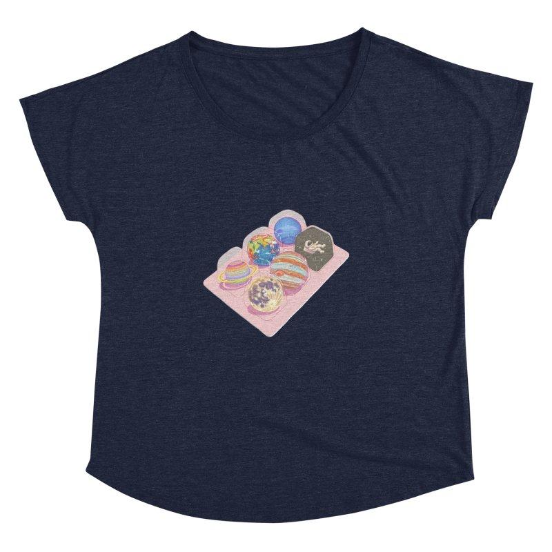 universe space pack Women's Dolman Scoop Neck by makapa's Artist Shop